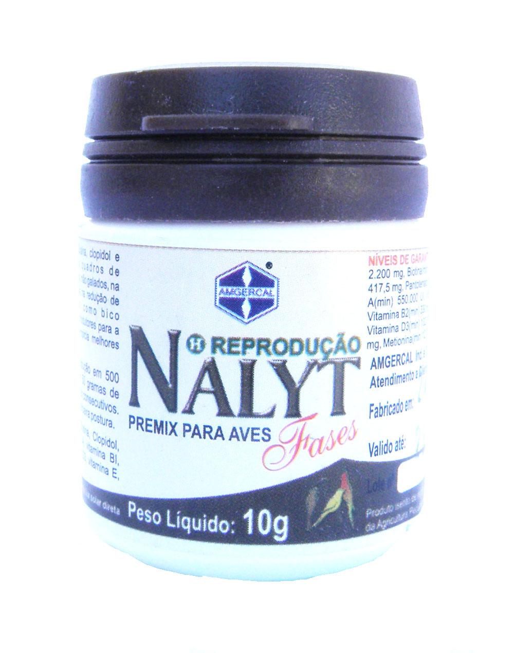 Amgercal - Nalyt Fases Muda 10g