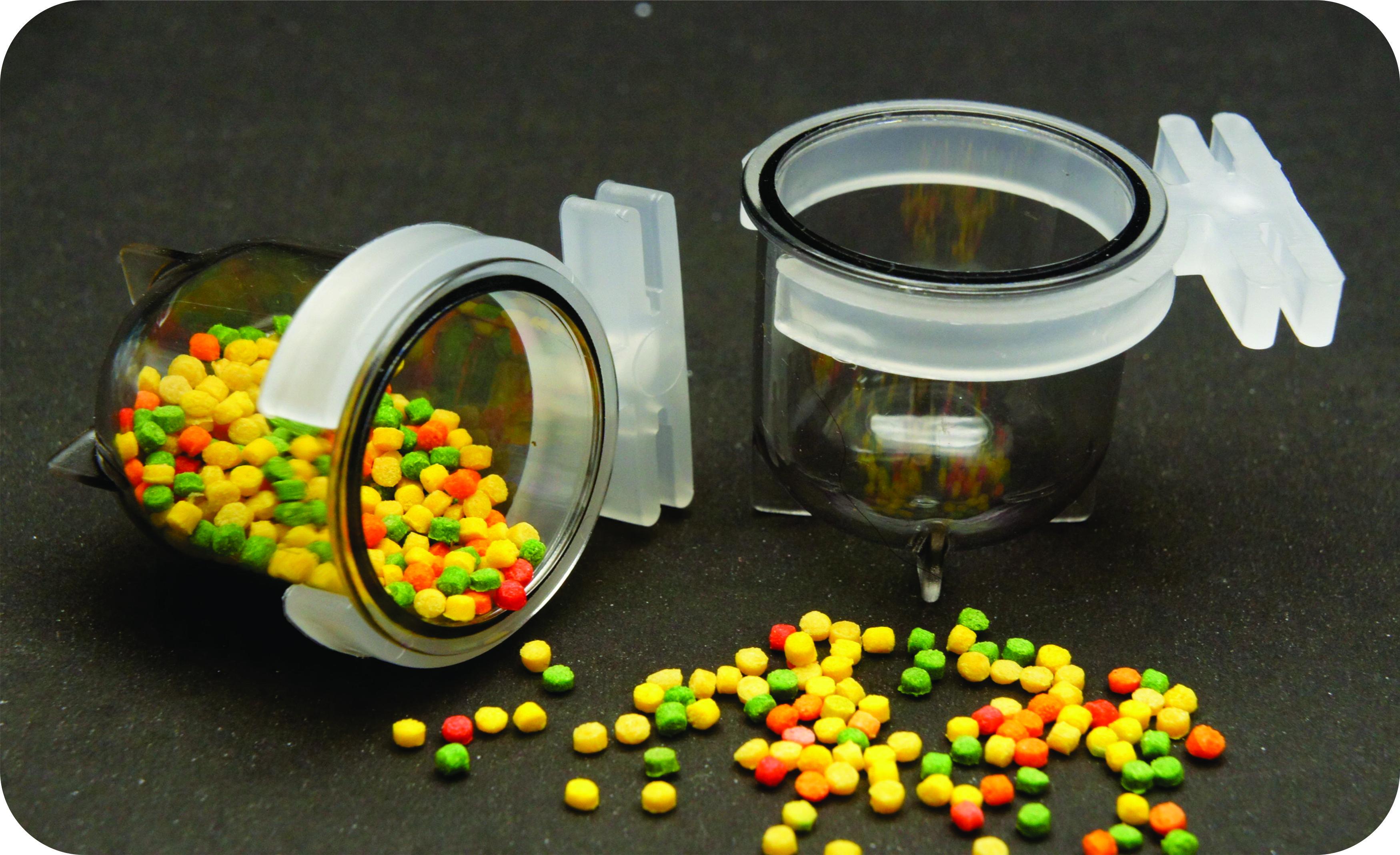 Porta Vitamina Pequeno Fumê - IF 55.0 - 12 Unidades