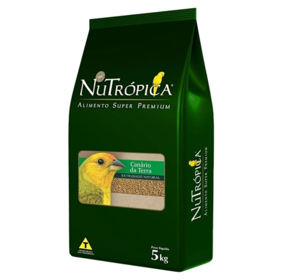 NUTRÓPICA - CANARIO DA TERRA 5KG