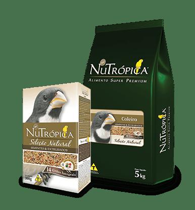 NUTRÓPICA - COLEIRO SELEÇÃO NATURAL - 300G