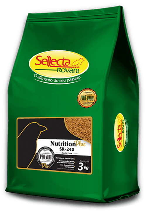 SELLECTA - EXTRUSADO SR - 240 NUTRITION PLUS 3KG