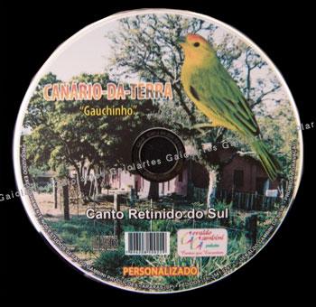 CD - Canário Da Terra Gaúchinho
