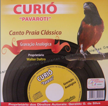 CD - Curió Pavaroti