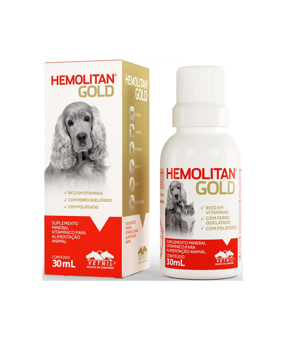 Vetnil - Hemolitan Gold 30ML