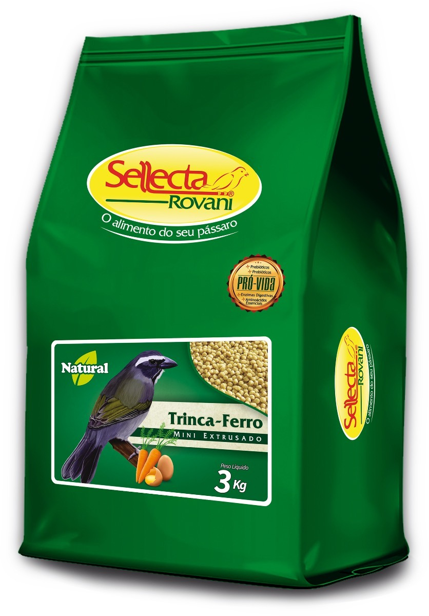 Sellecta - Trinca-Ferro Natural Mini Extrusado 3kg