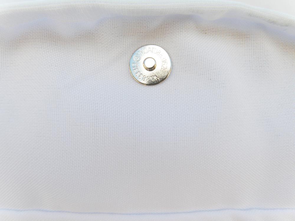 Capa Tecido N°6 - Branca Viés Branca