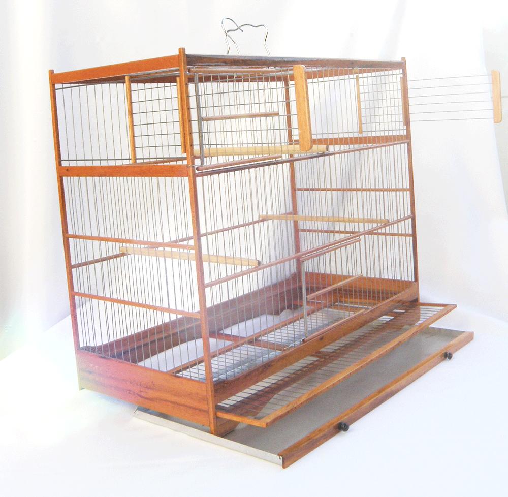 Gaiola Criadeira Curio Modelo III - Muiracatiara - Inox - PRONTA ENTREGA