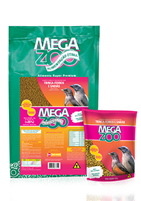 Megazoo - Trinca Ferro e Sabiás 500G REFIL.
