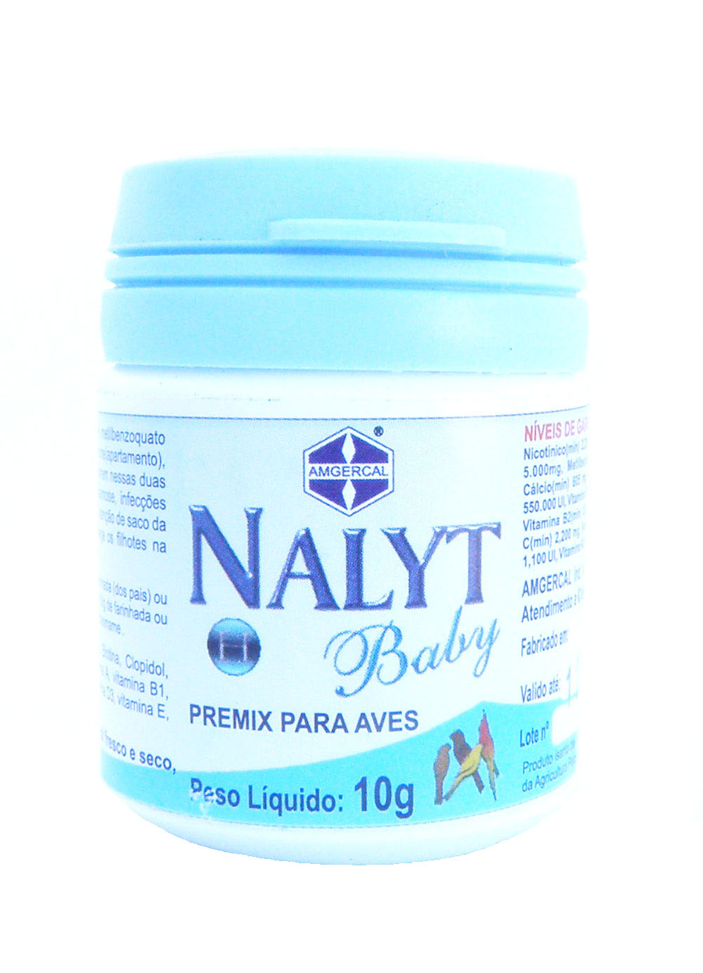 Amgercal - Nalyt H Baby - 10g