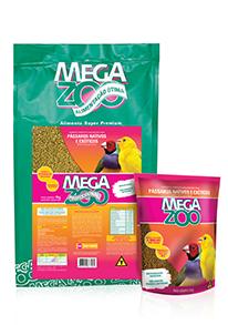 Megazoo - SM16 Pássaros Nativos E Exóticos Manutenção. 5KG