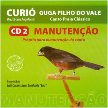 CD - Curió Guga Filho Do Vale - Vol 2