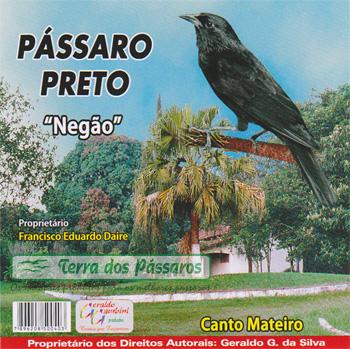 CD - Pássaro Preto