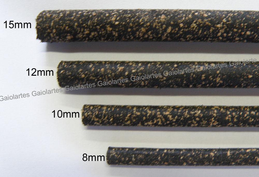 Kit 3 poleiros cortiça emborrachada - 12mm x 22,5cm