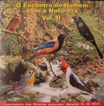 CD - Coletânea Encontro Do Homem Com A Natureza Volume II