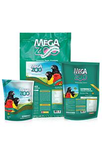 Megazoo - Germinex Alimento Extrusado 500G REFIL.